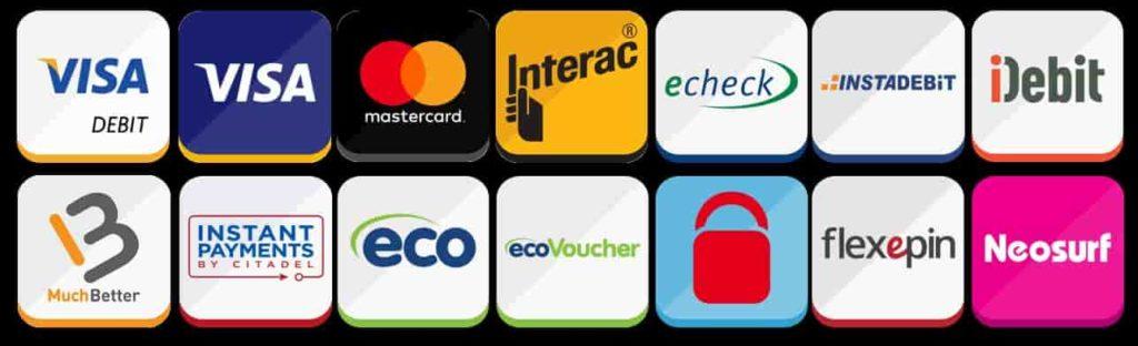 jackpotcity payment methods